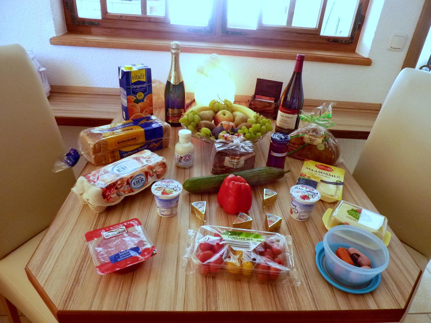 Alles was Sie für das erste Frühstück benötigen!