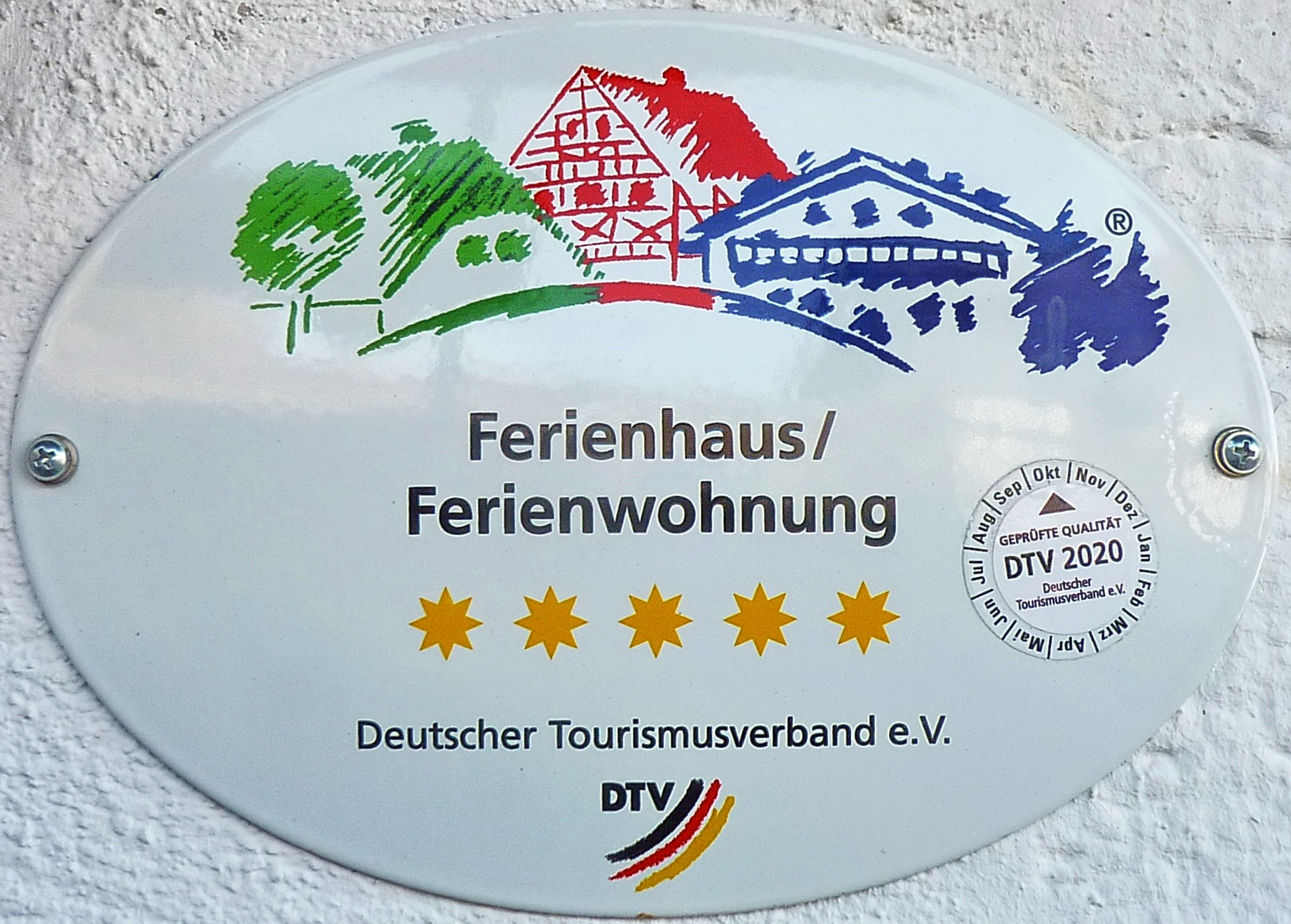 Klassifiziert mit 5 Sternen durch den Deutschen Tourismusverband